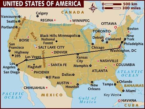 Mỹ là quốc gia rộng lớn