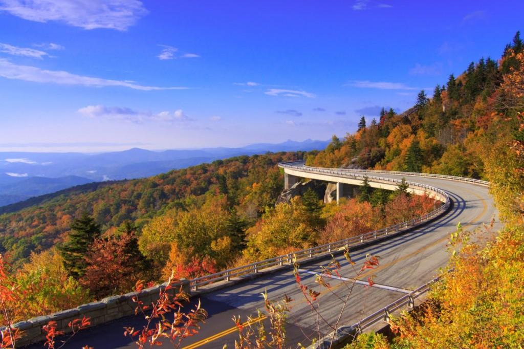 du lịch phượt nước Mỹ đại lộ Blue Ridge