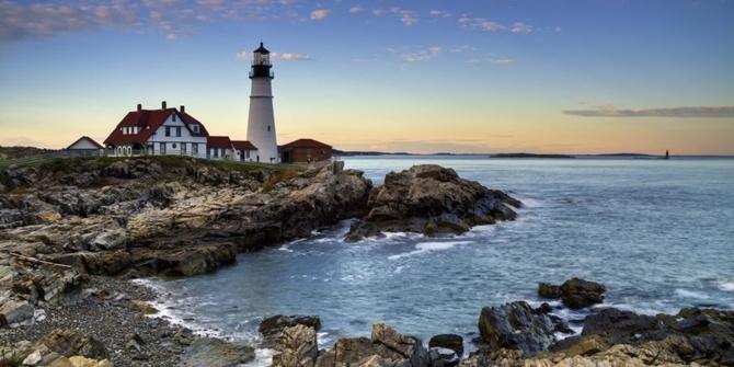 bờ biển maine kế hoạch du lịch phượt Mỹ