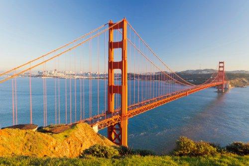 cầu cổng vàng - ước mơ du lịch Mỹ