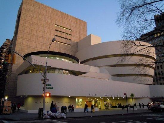 Bảo tàng Guggenheim, Mỹ