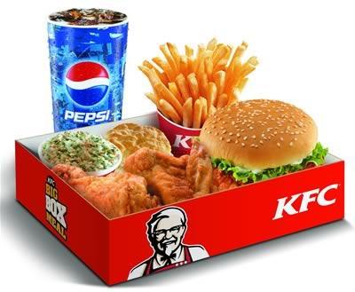 món ăn nhanh KFC