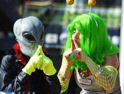 Lế hội người ngoài hành tinh ở Mỹ