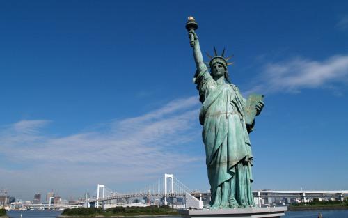 nữ thần tự do - ước mơ du lịch Mỹ