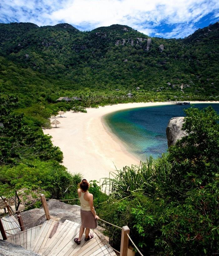 Vịnh Ninh Vân - Địa điểm du lịch Nha Trang