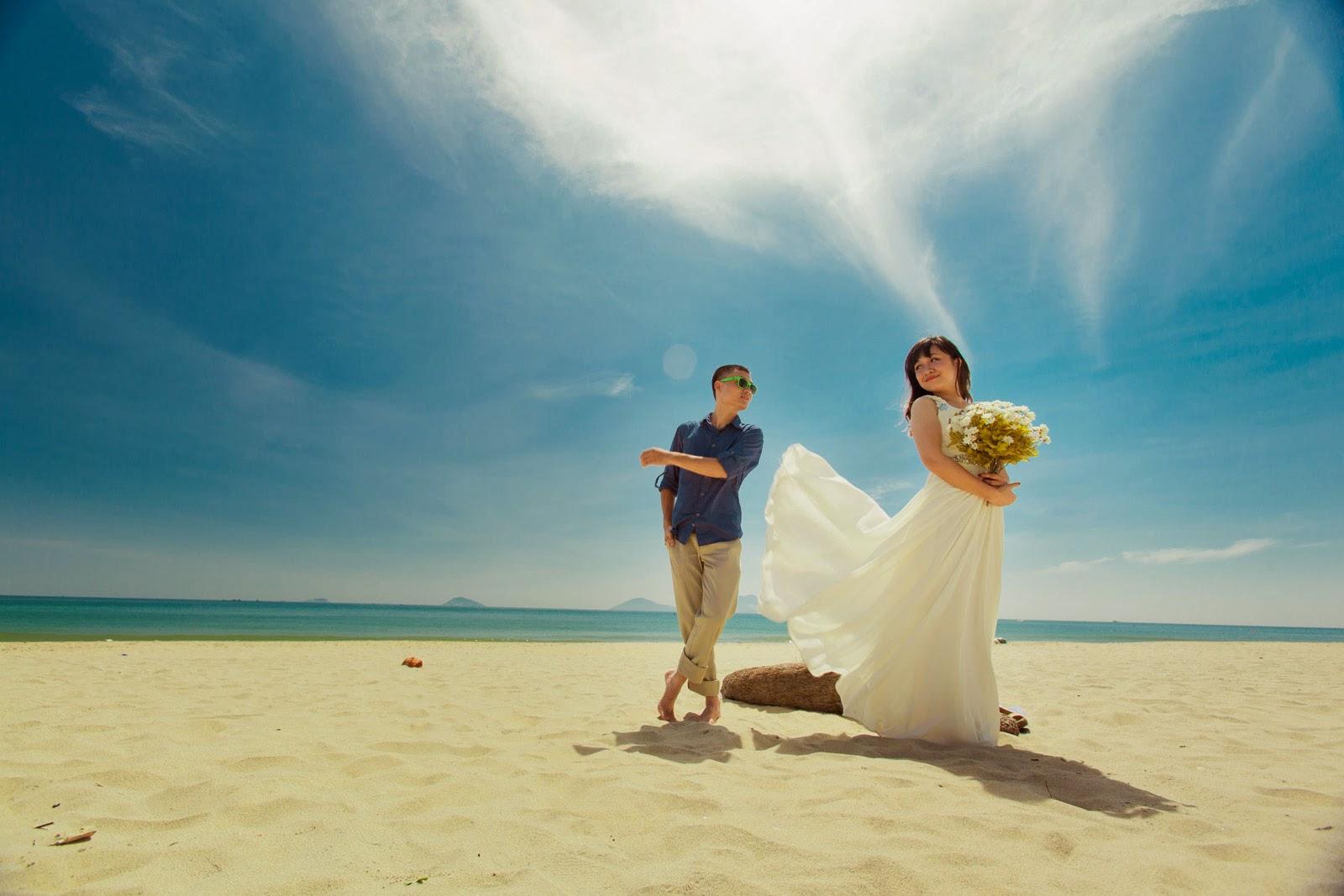 Chụp ảnh cưới ở biển Nha Trang - Du lịch Nha Trang 3 ngày 2 đêm