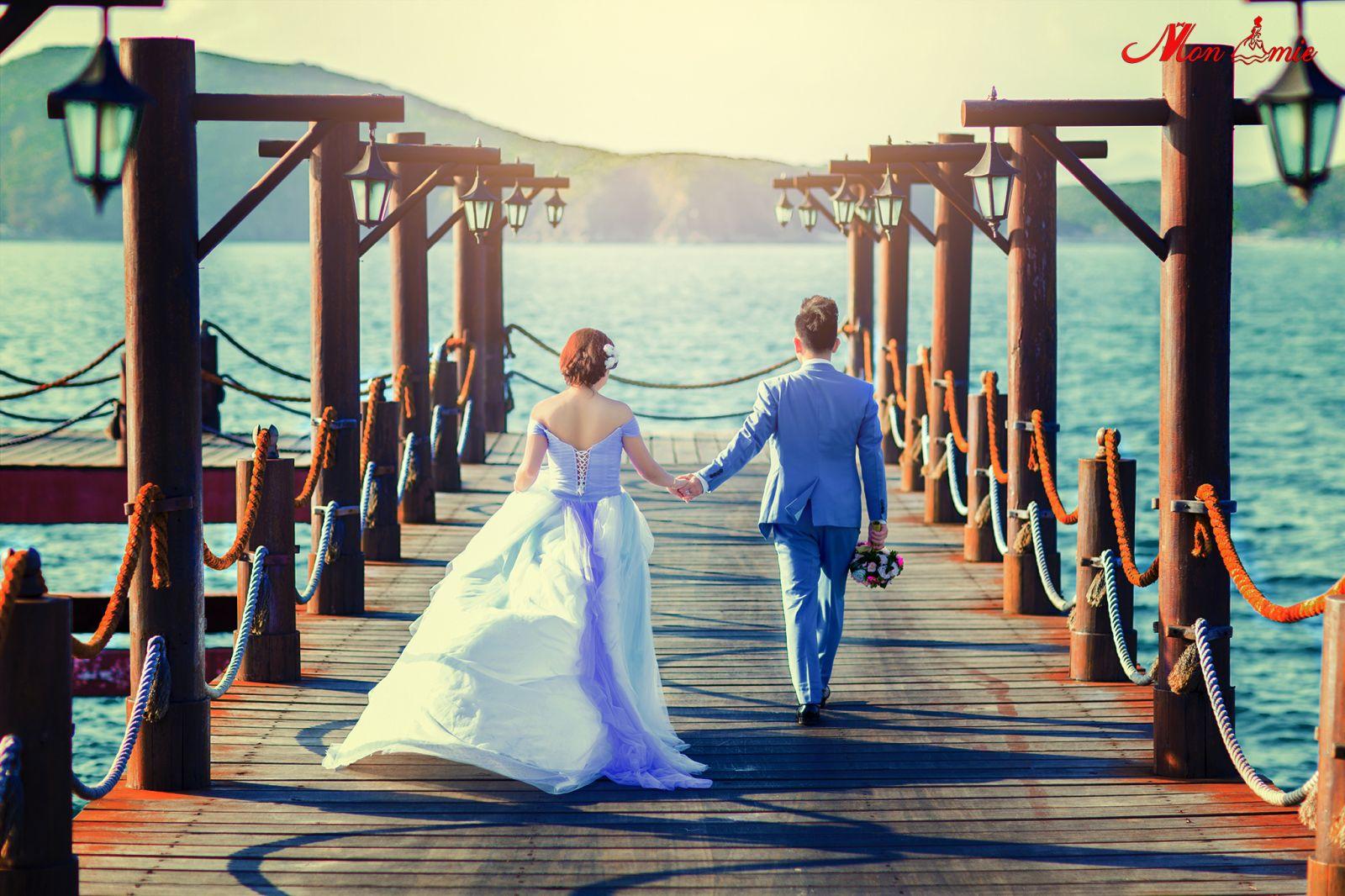 Chụp ảnh cưới ở Hòn Tằm - Du lịch Nha Trang 3 ngày 2 đêm