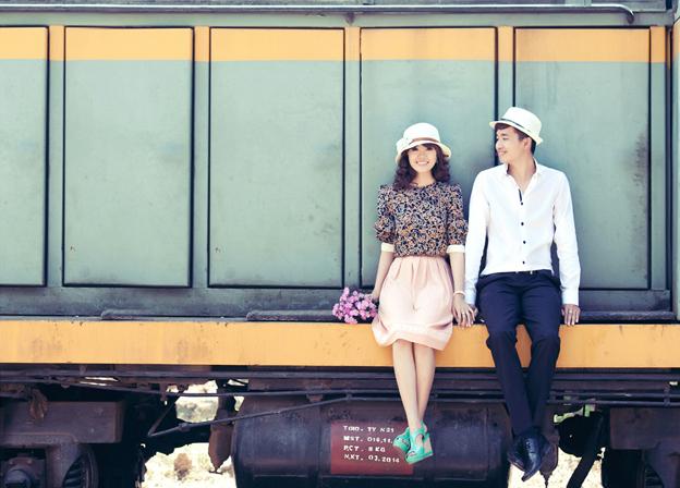 Chụp ảnh cưới ở ga Nha Trang - Du lịch Nha Trang 3 ngày 2 đêm