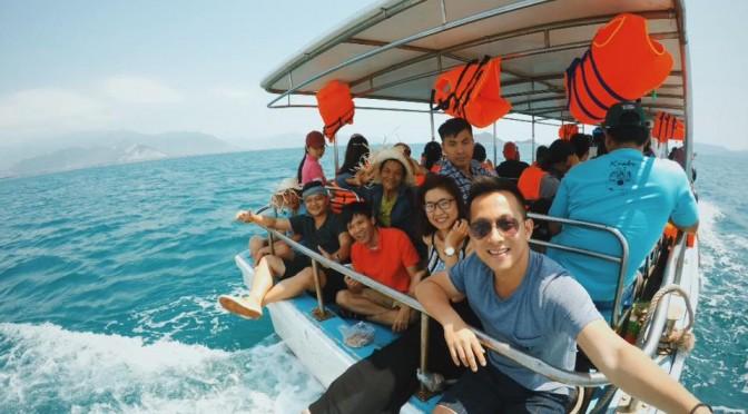 Đi đến đảo Điệp Sơn bằng phương tiện gì - Du lịch Nha Trang 3 ngày 2 đêm