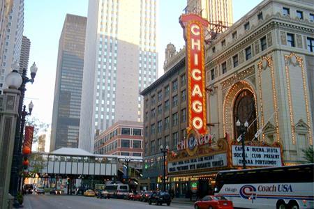 thiên đường mua sắm Chicago