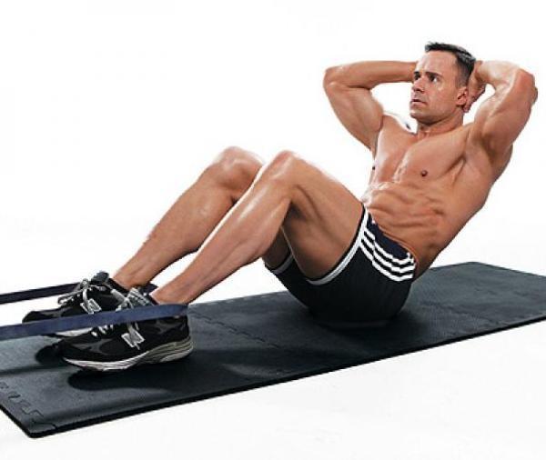 Gập bụng hình chữ v tập cơ bụng hiệu quả