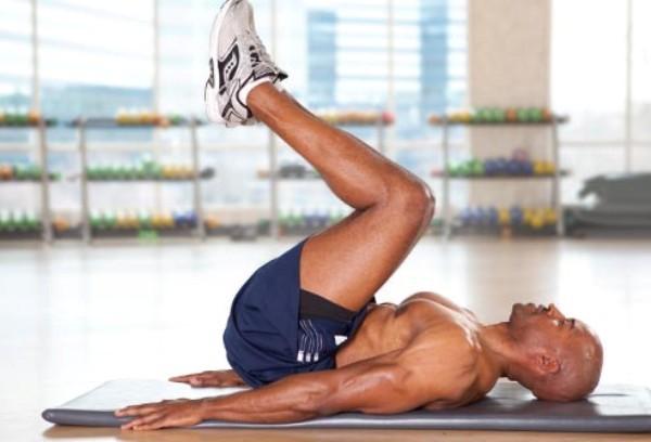Cách tập cơ bụng bằng gập bụng trước