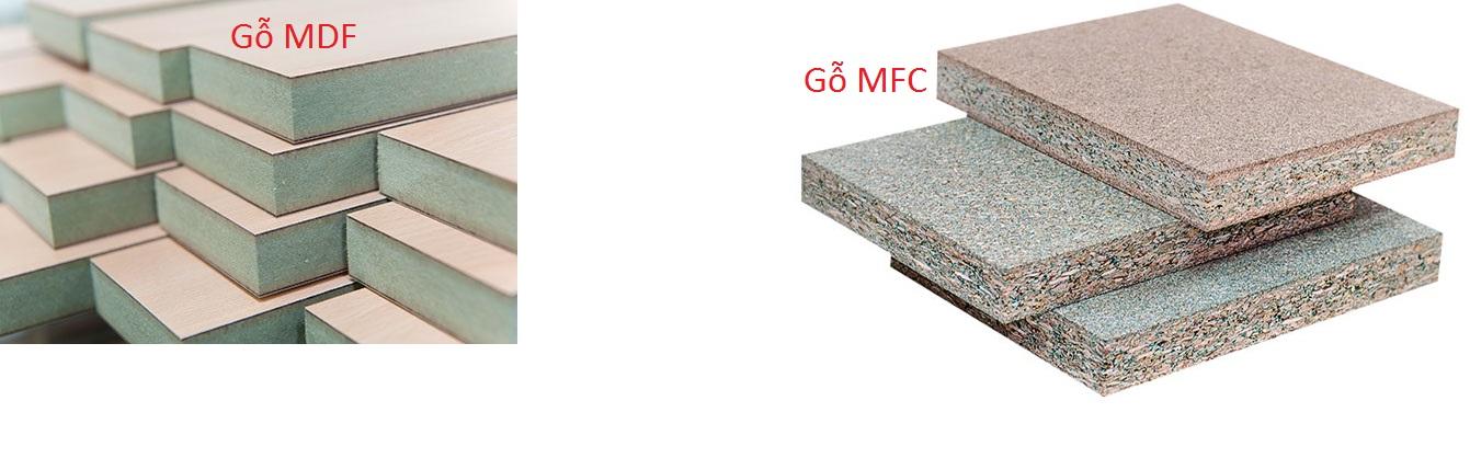 Bàn bóng bàn gỗ MDF và MFC