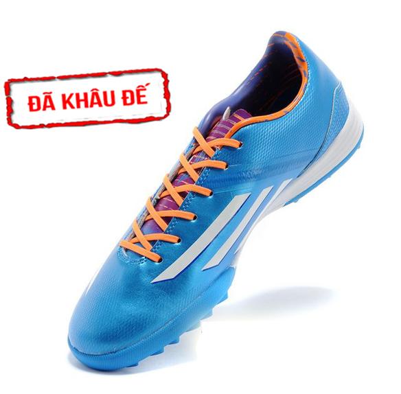 Giày bóng đá Adidas adizero F50 xanh TF Fake 1