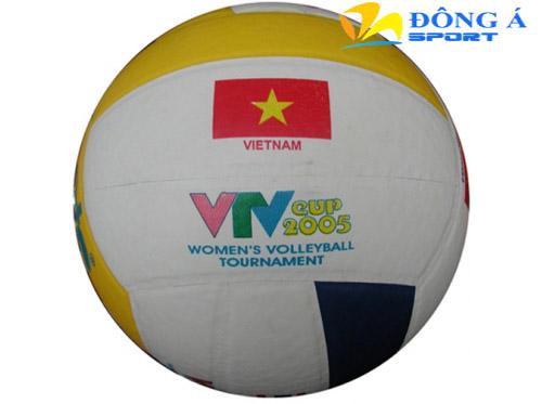 Qủa bóng chuyền Động Lực da PVC in VTV  DE201