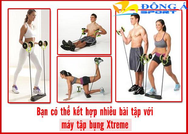 Máy tập cơ bụng Revoflex Xtreme