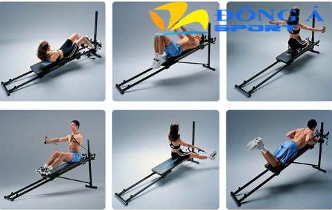 Máy tập toàn thân Total Gym