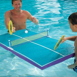 bàn bóng bàn độc đáo dưới nước