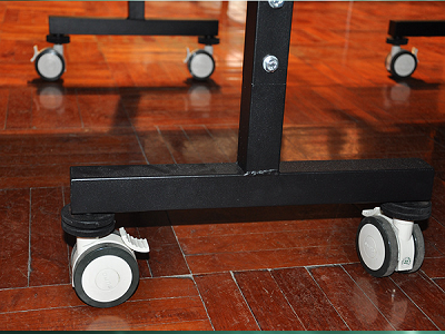 Hệ thống chân bàn và khóa hãm bàn bóng bàn DF 233