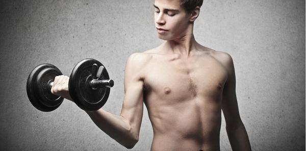 Tập thể hình là phương pháp giúp người gầy tăng cân hiệu quả