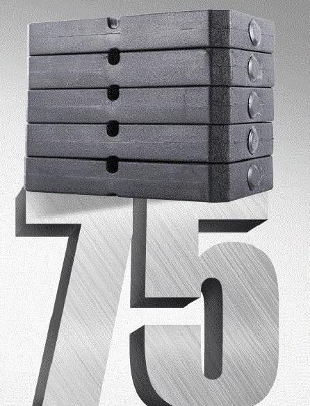 Trọng lượng tạ lên đến 75kg