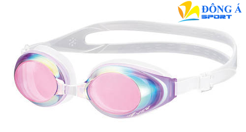 Kính bơi phản quang màu hồng View V610MR