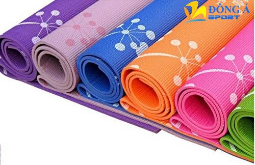 Thảm tập Yoga hoa 1009
