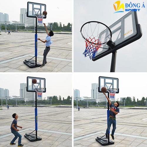 Hình ảnh thực tế của trụ bóng rổ S021A
