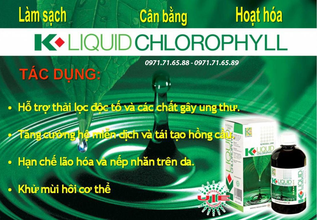 nước diệp lục Klink Liquid Chlorophyll giá rẻ