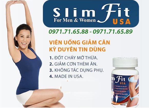 Thuốc giảm cân Slimfit USA của Kỳ Duyên
