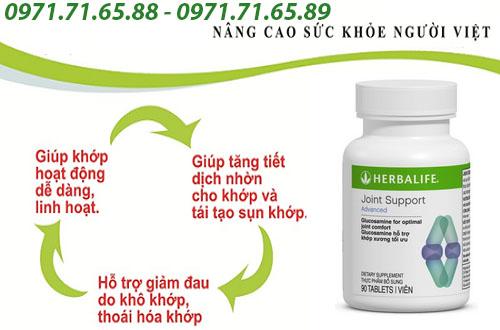 sản phẩm hỗ trợ xương khớp Herbalife Joint Support Advanced chính hãng