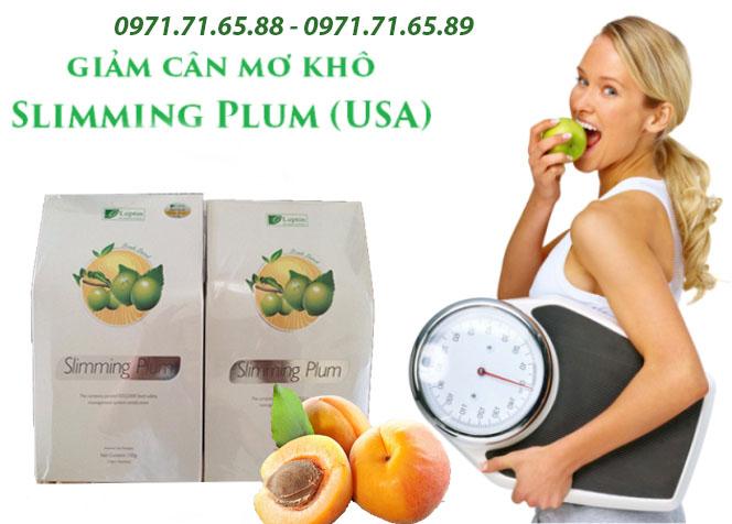 Mơ khô giảm cân Slimming Plum USA
