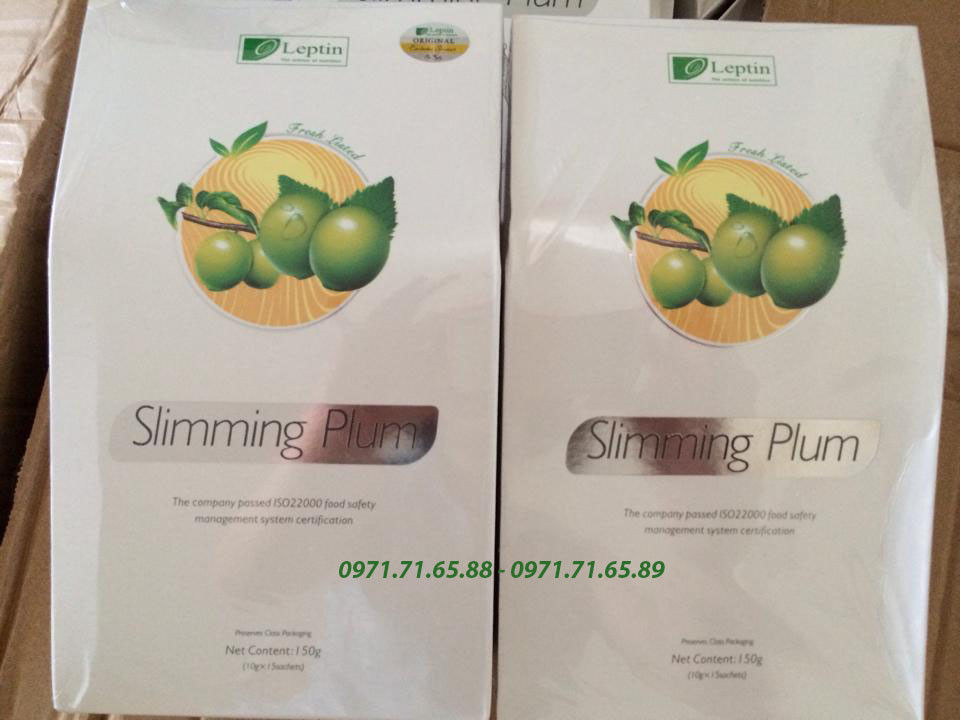 Mơ khô giảm cân Slimming Plum USA chính hãng
