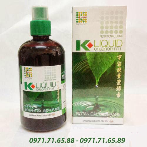 nước diệp lục Klink Liquid Chlorophyll
