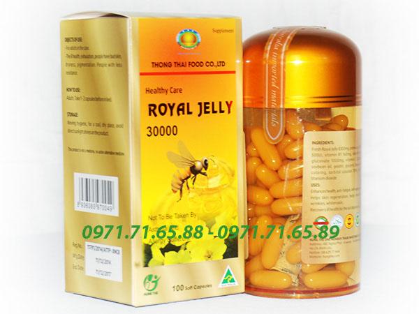 Sữa ong chúa Royal Jelly Healthy Care chính hãng, sữa ong chúa chính hãng