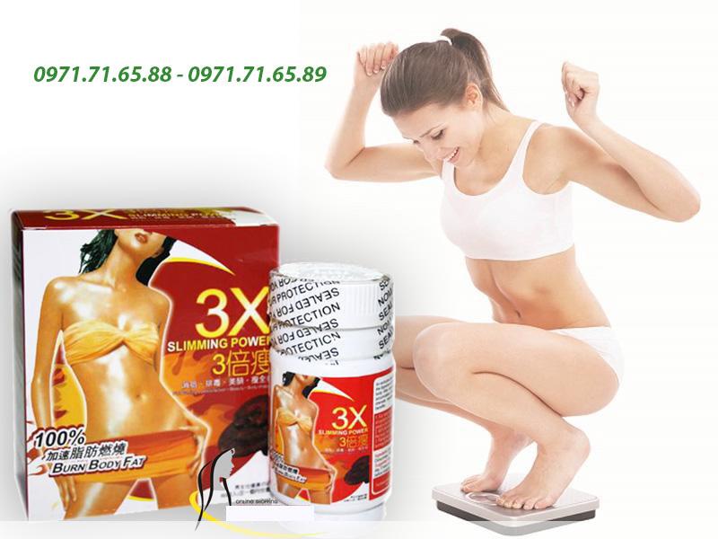 Thuốc giảm cân 3x Slimming Power của Nhật Bản