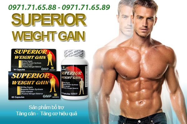 thuốc tăng cân Superior Weight Gain