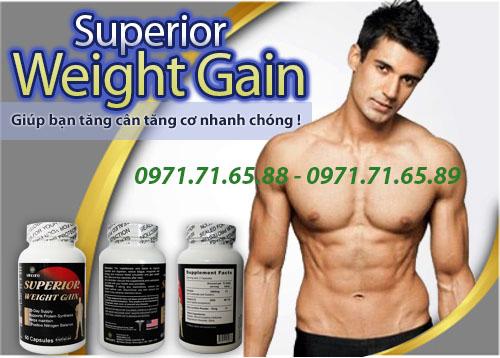 thuốc tăng cân Superior Weight Gain chính hãng