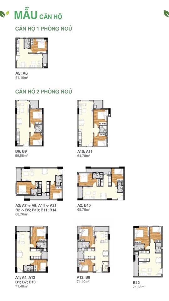 mẫu căn hộ lavita