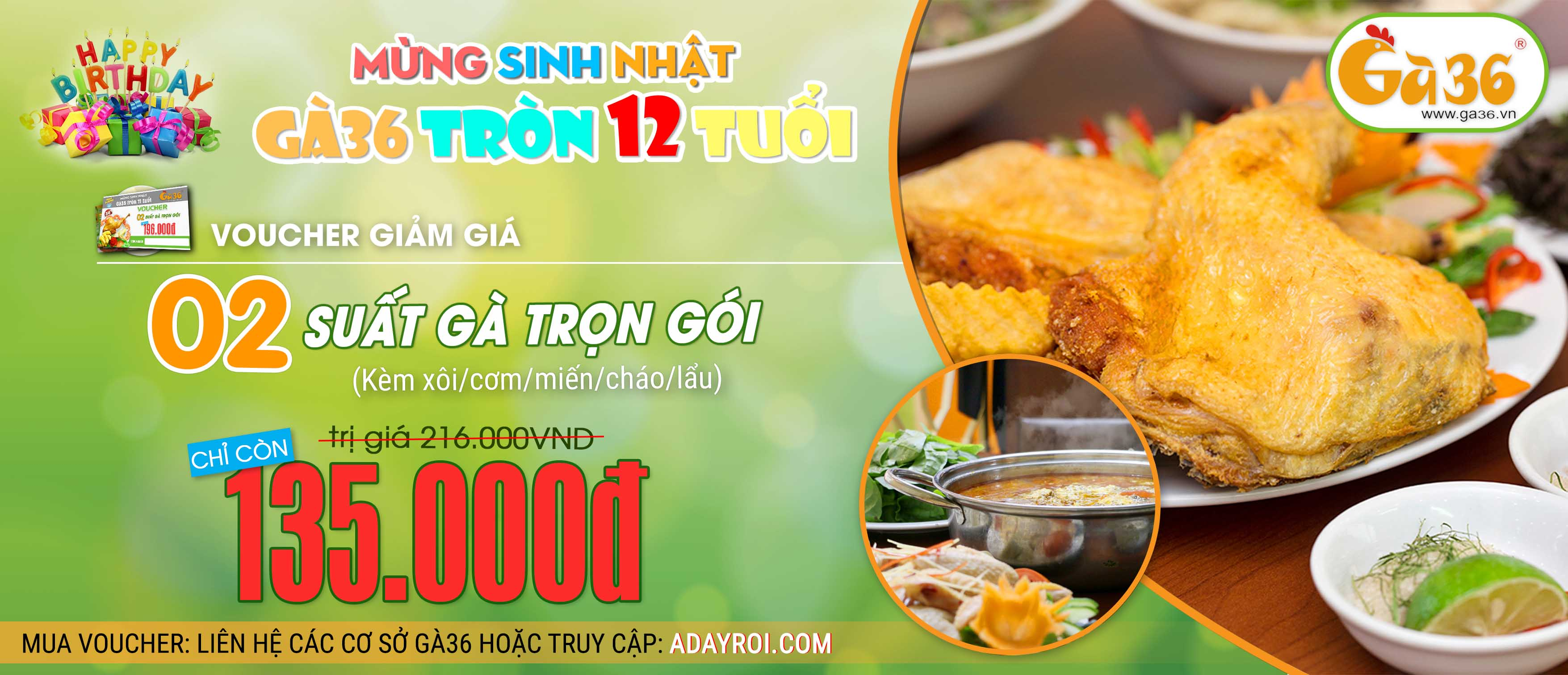 Sinh Nhat Ga36 12 tuoi