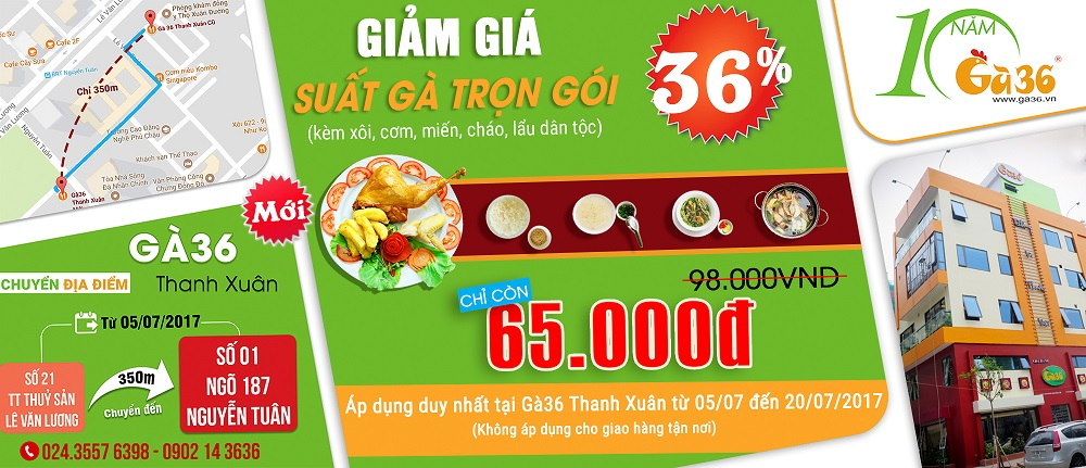 Ga36 Thanh Xuan moi
