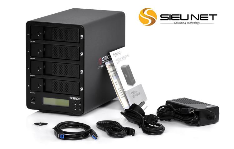 HDD Box ORICO 9558U3, 5 Bay USB 3.0