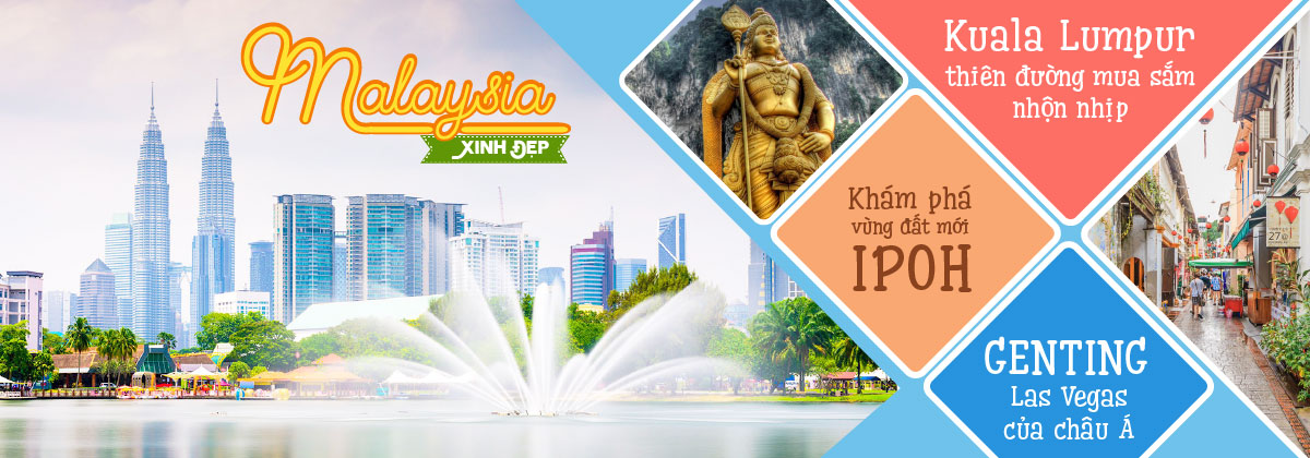 du lịch malaysia giá rẻ