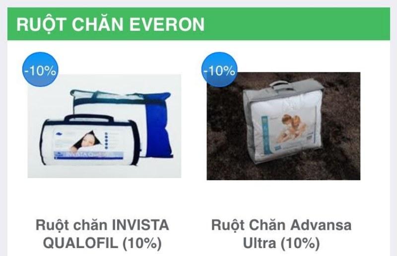 Ruột chăn Everon