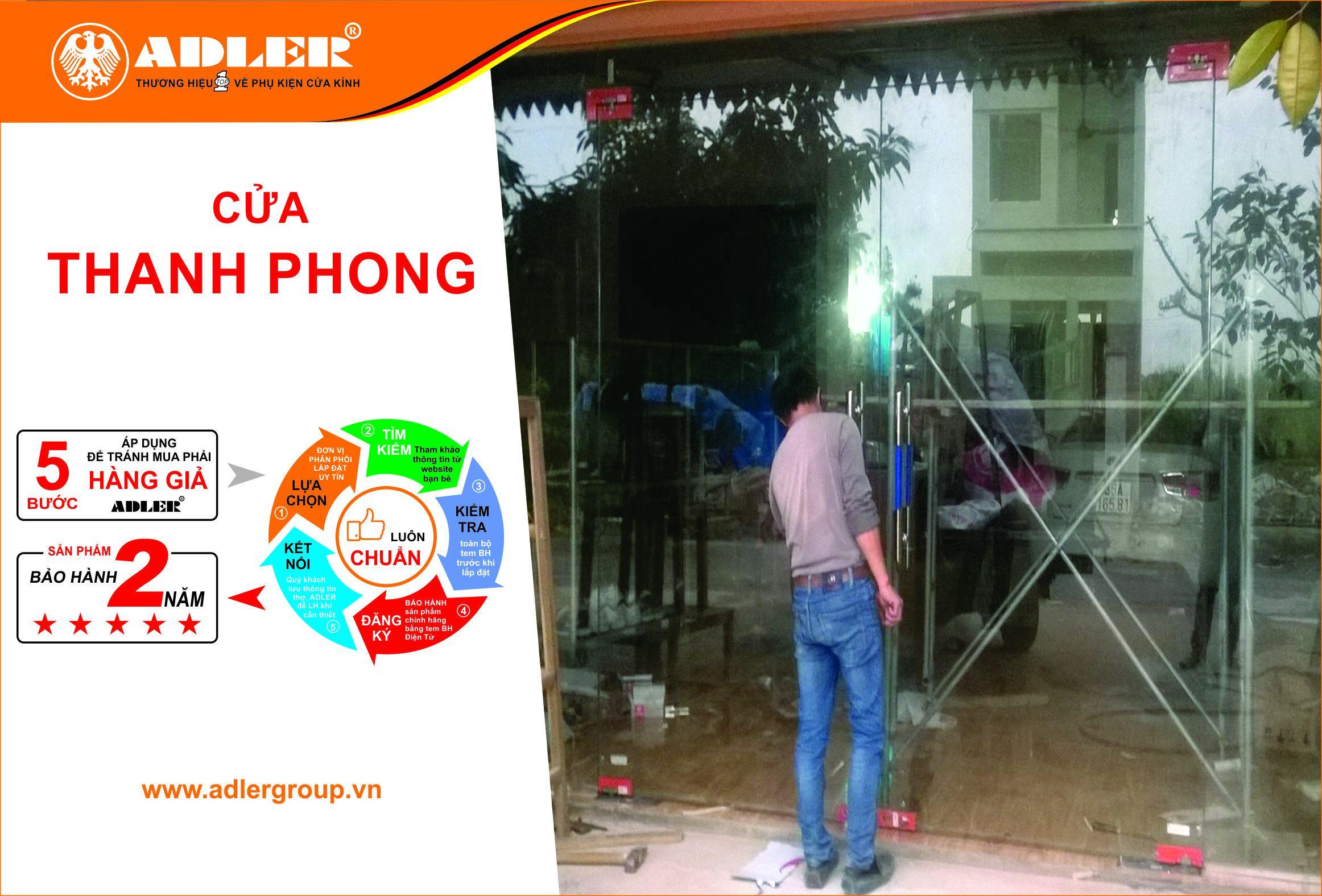 Người thợ cửa Thanh Phong
