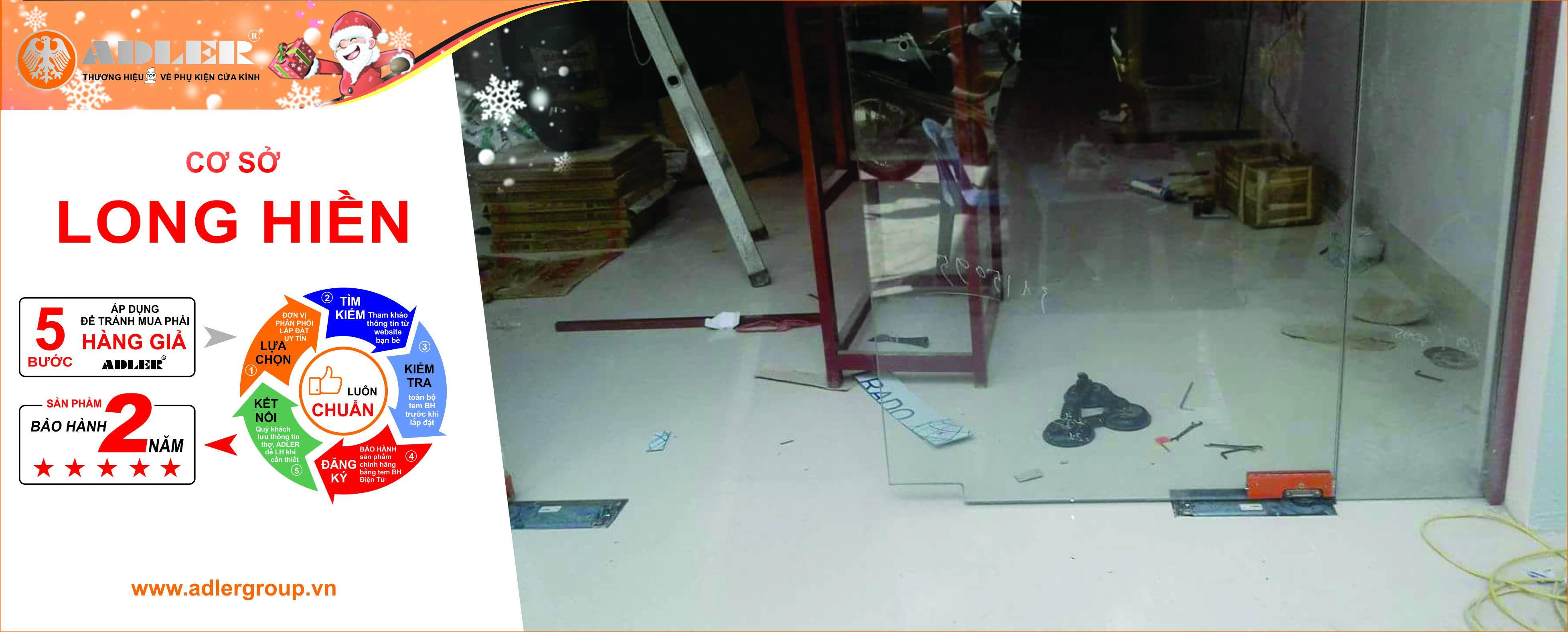 Adler luôn có mặt ở mọi công trình của Nhôm kính Long Hiền.