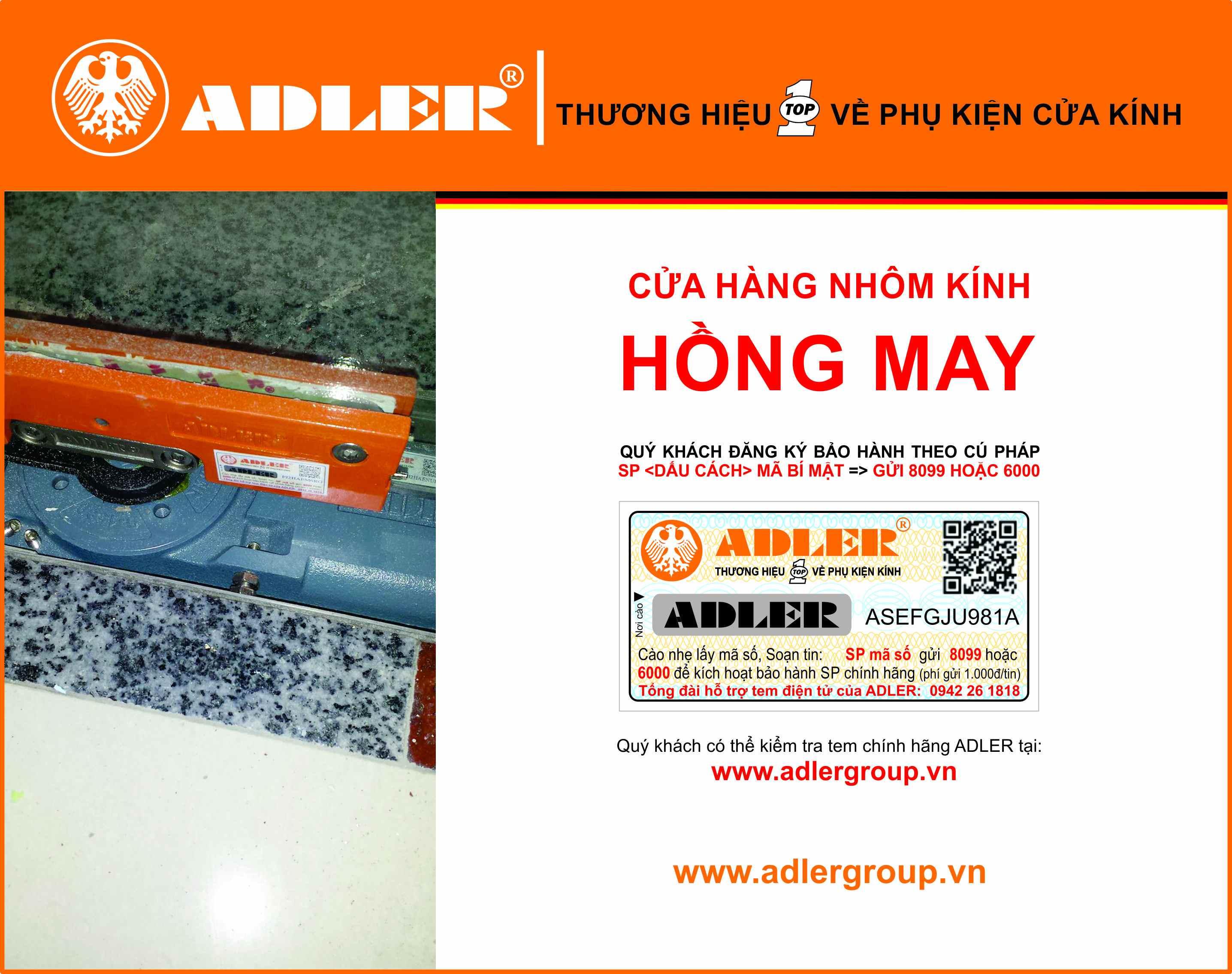 Cận cảnh sản phẩm Bản lề sàn Adler được đánh giá chất lượng nhất