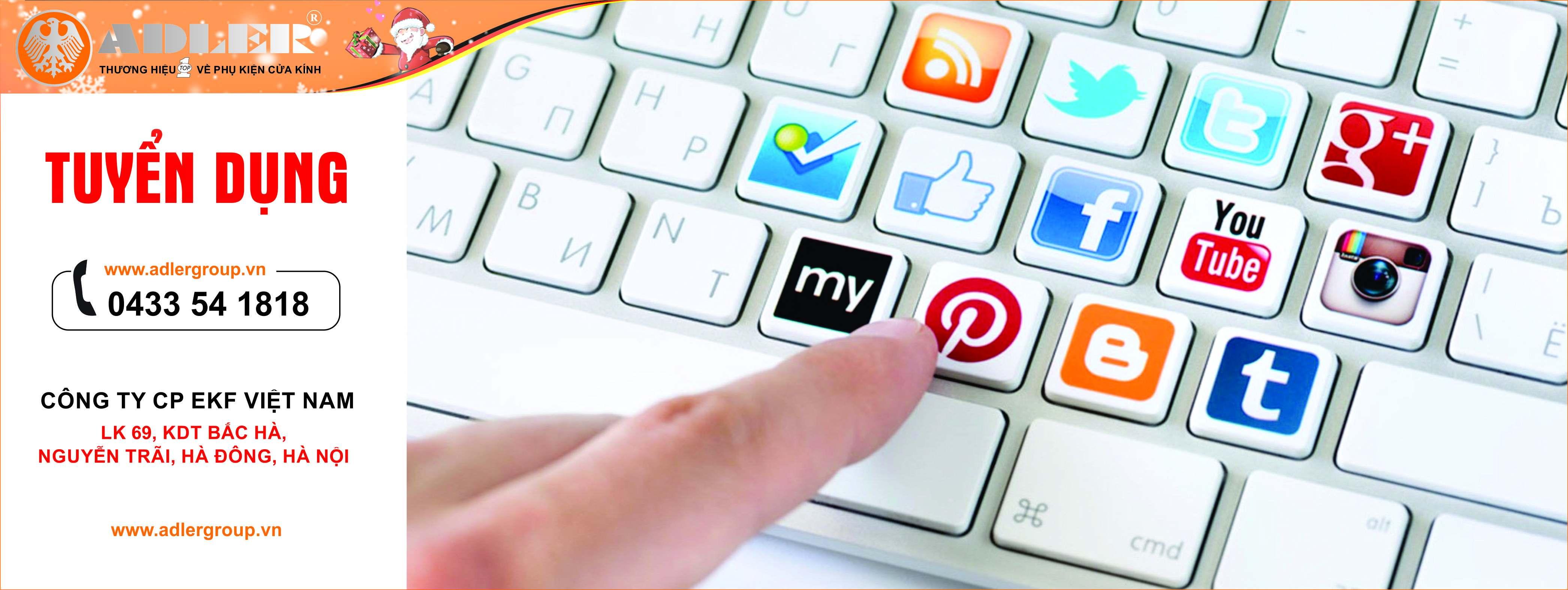 Tuyển dụng qua mạng xã hội