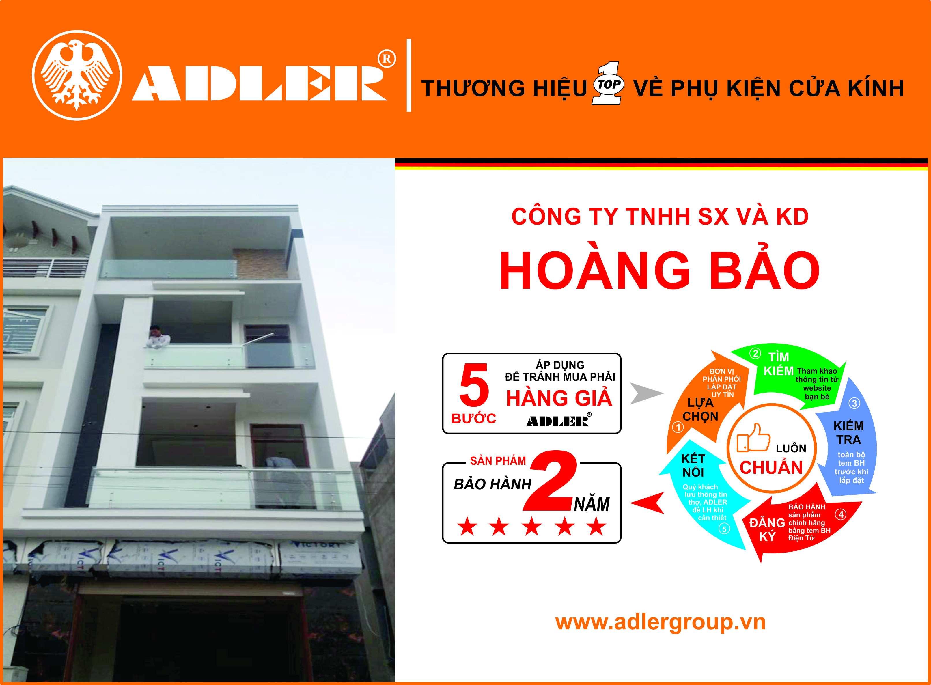 Adler cùng Công ty TNHH SX & KD Hoàng Bảo