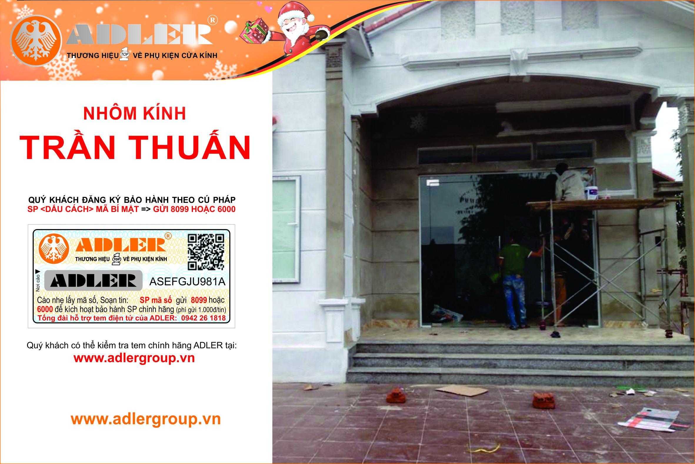 Những anh thợ lắp đặt chuyên nghiệp của nhôm kính Trần Thuấn